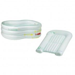 Bébé Confort - Oppusteligt badekar og puslepude