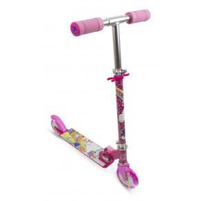 Barbie løbehjul m. 2 LED hjul