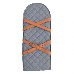 Sleepbag Bæreplade med remme - Grey Melange