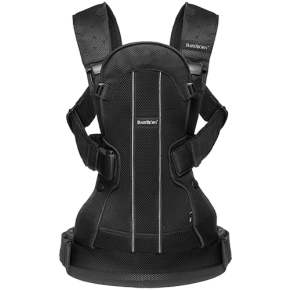 Babybjørn Baby Carrier We Air - Sort Mesh