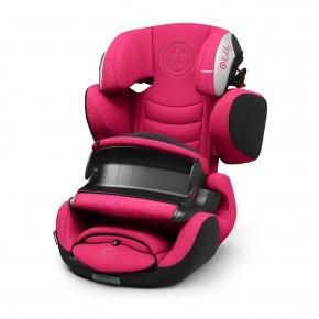 Kiddy Guardianfix 3 Autostol - Berry Pink (Til isofix og/eller selemontering)
