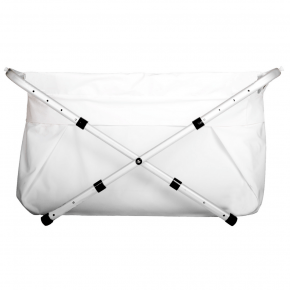 BibaBad Flexi badekar 70-90 cm - hvid