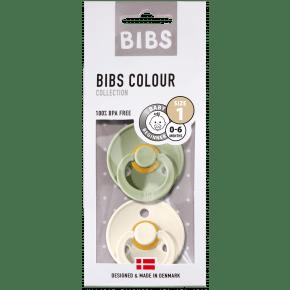 BIBS Colour sutter - Ivory/Sage