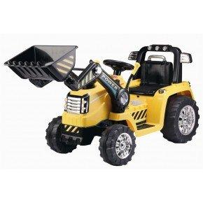 Ride ons Azeno power traktor - Gul