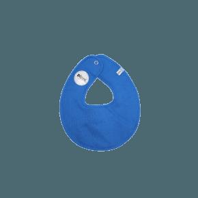 Blå rund hagesmæk - Pippi