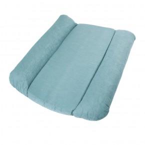 Sebra quiltet puslepude - Blå