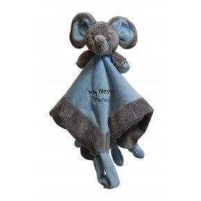 My First Elephant sutteklud - Blå
