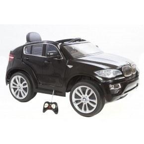 Ride Ons BMW X6 - Sort - Med fjernbetjening