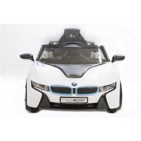 Ride ons BMW I8 Concept - Hvid - Med fjernbetjening.