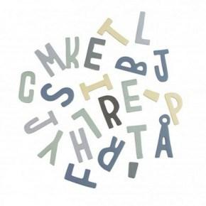 Sebra, Magnetbogstaver - Mixed dreng