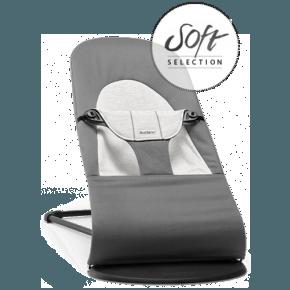 Babybjørn Bouncer Balance Soft - Dark Grey/Grey Cotton/Jersey