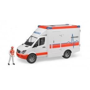 Bruder - Mercedes Sprinter ambulance m. chauffør