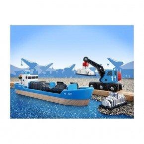 BRIO Containerskib Legetøj