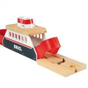BRIO Færge med lyd og lys Legetøj