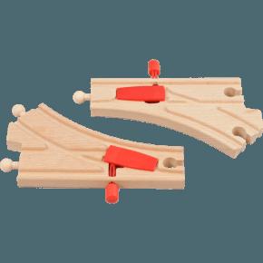 BRIO Mekanisk skiftespor Legetøj