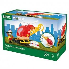 BRIO World - Redningshelikopter - 33797