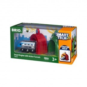 BRIO World - Smart Tech - Lokomotiv m. Action-tunneler - 33834