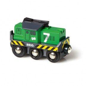 BRIO Fragtlokomotiv, batteridrevet Legetøj