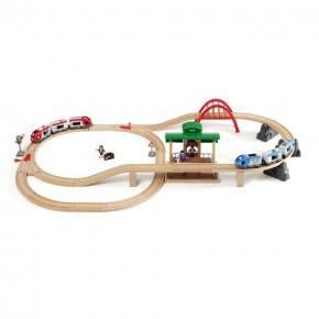 BRIO Togbane (stor) på rejse - legetøj