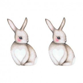 That's Mine Wall Stories - Sally The Shy Bunny, lille (2 stk)