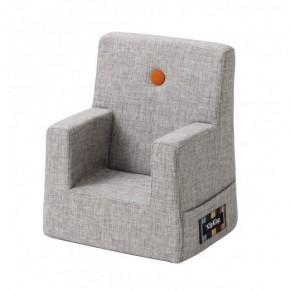 By KlipKlap stol XL - multi grå m. orange knap