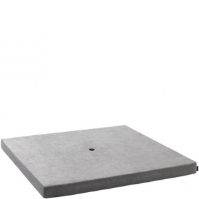 by Klip Klap KK Square argent velour grey w dark grey