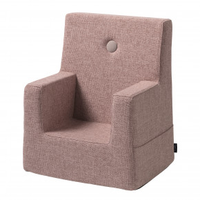 By KlipKlap KK Kids Chair - Soft rose m. rose knap