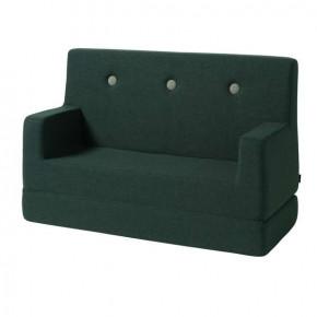 By KlipKlap sofa - Grøn m. grøn knap
