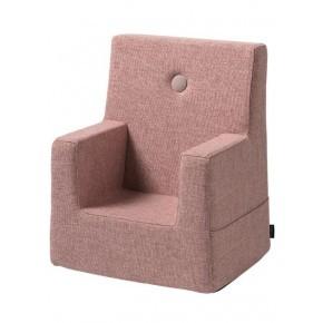 By KlipKlap Kids Chair - Soft rose w rose Børnelænestol
