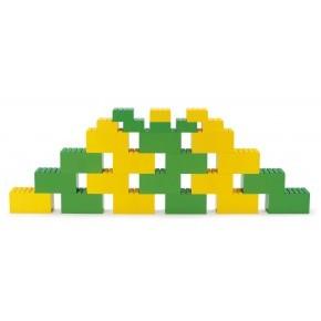 Dantoy byggeklodser 26 stk - Grøn/gul