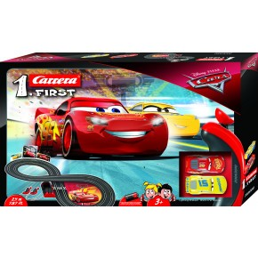 Carrera First Racerbane - Cars 3 - McQueen vs. Cruz