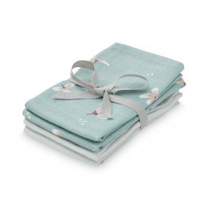Cam Cam vaskeklude 4-pak – windflower blue/etoile blue