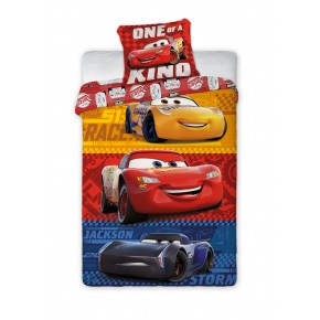 Cars 3 juniorsengetøj (100x140)