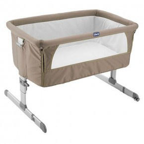 Chicco Next2me vugge - Dove Grey