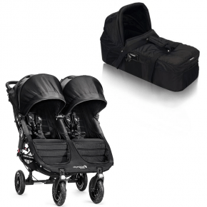 Baby Jogger City Mini GT Double med Kompakt Pram - Black