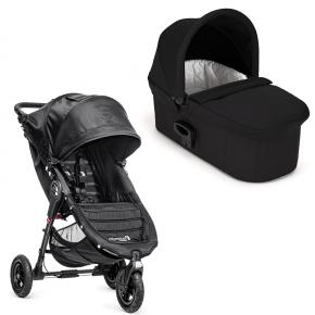 Baby Jogger City Mini GT single med Deluxe pram - Black
