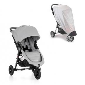 Baby Jogger City Mini GT - Slate + Insektnet