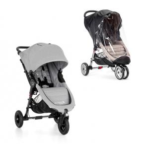 Baby Jogger City Mini GT Slate + Regnslag