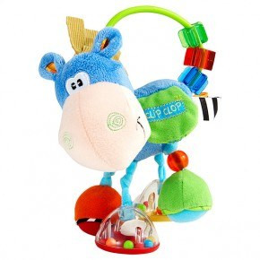 Hesten Clip-Clop blå - Playgro