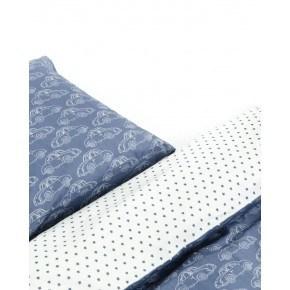 Smallstuff Babysengetøj Beetle (70x100 cm) - Blå