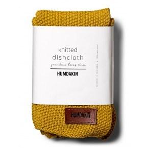 HUMDAKIN Knitted dishcloth 3-pack - Yellow fall