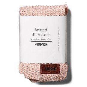 HUMDAKIN Knitted dishcloth 3-pack - Rose nature