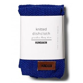 HUMDAKIN Knitted dishcloth 3-pack - Blue cloud