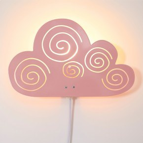 Roommate - Cloud Lamp - Rosa
