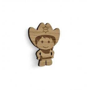 Cowboy knage (egetræ) - Maseliving