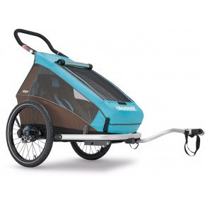 CROOZER - Cykelanhænger, Kid 1 Plus, blå