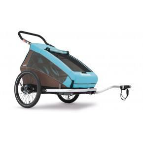 CROOZER Cykelanhænger Kid 2 Plus - blå