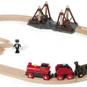 BRIO Togbane, damplokomotiv Legetøj