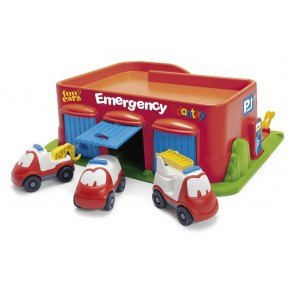 Dantoy Emergency station inkl. biler