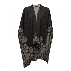 DAY Trace Poncho - Black